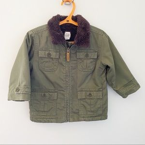 Baby Gap Jackets & Coats - Baby Gap Olive Green Jacket - 18-24 months
